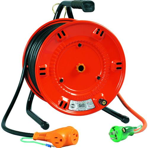 日動 電工ドラム びっくリール 100V アース付 20m [NL-E20S] NLE20S 販売単位:1 送料無料
