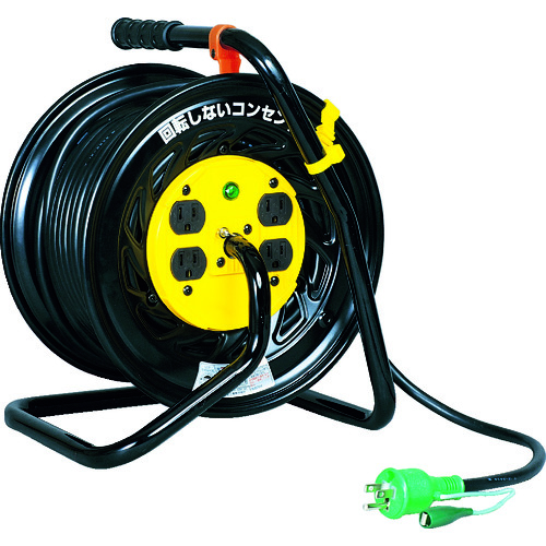 日動 電工ドラム マジックリール 100V アース付 30m [Z-E34] ZE34 販売単位:1 送料無料