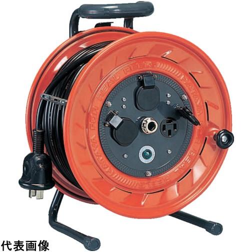 ハタヤ 三相200V型コードリール 50m アース付 [LP-502M] LP502M 販売単位:1 送料無料