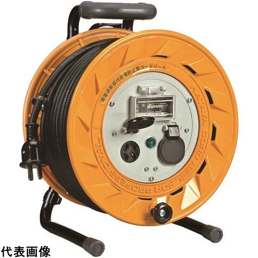 ハタヤ 三相200V型ブレーカーリール 50mアース付 20A [BL-502M] BL502M 販売単位:1 送料無料