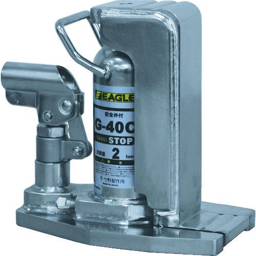 イーグル クリーンルームレバー回転爪つきジャッキ 爪能力2t [G-40C] G40C 販売単位:1 送料無料