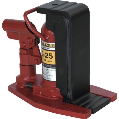 イーグル 爪付油圧ジャッキ 1.2t [G-25] G25 販売単位:1 送料無料