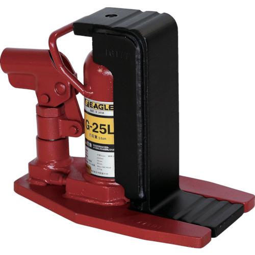 イーグル 爪付油圧ジャッキ [G-25L] G25L 販売単位:1 送料無料