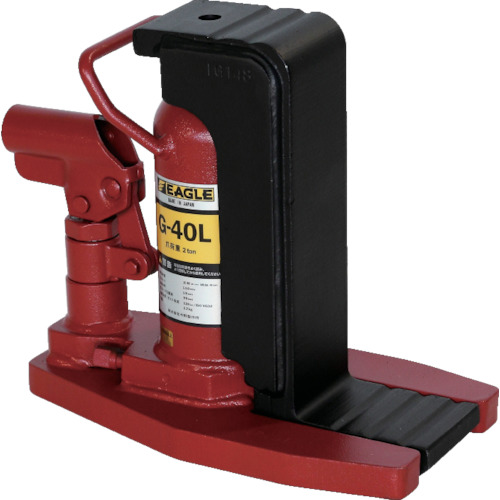 イーグル レバー回転式安全弁付ジャッキ [G-40L] G40L 販売単位:1 送料無料