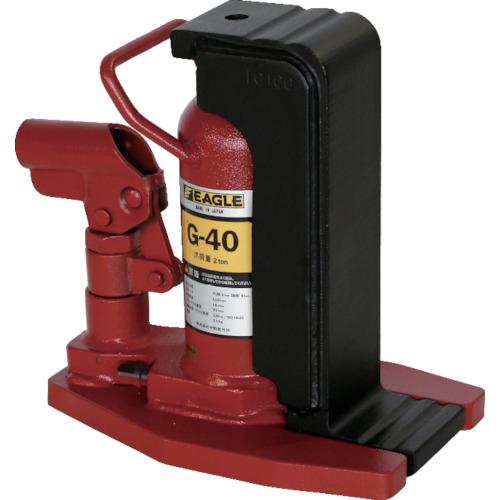 イーグル レバー回転安全弁付爪付ジャッキ [G-40] G40 販売単位:1 送料無料
