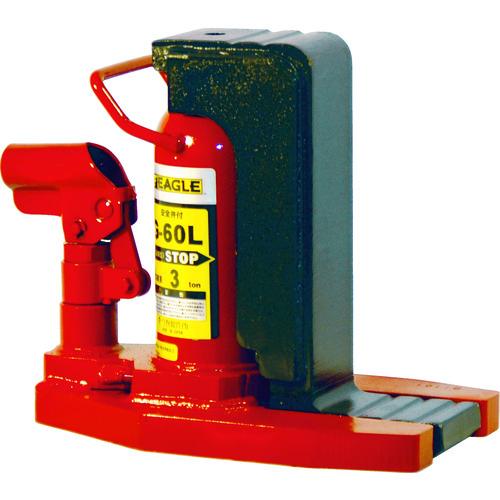 イーグル レバー回転・安全弁付爪つきジャッキ 爪能力3t 爪ロングタイプ [G-60L] G60L 販売単位:1 送料無料