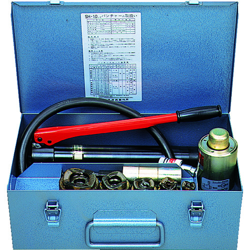 泉 手動油圧式パンチャ [SH10-1-AP] SH101AP 販売単位:1 送料無料