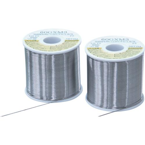 石川 60GXM3(すず60%/鉛40%)-1.0mm-1kg [60GXM3-10] 60GXM310 販売単位:1 送料無料
