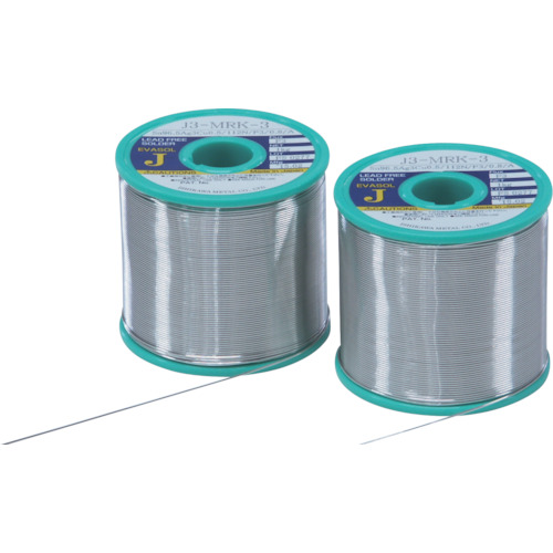 石川 エバソルMRK(すず96.5%/銀3.0%/銅0.5%)-1.2mm-1kg [J3MRK3-12] J3MRK312 販売単位:1 送料無料
