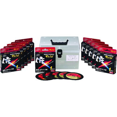 トーケン 切断砥石サムライ 105 100枚ケースセット [RA-105AZ-100] RA105AZ100 販売単位:1 送料無料