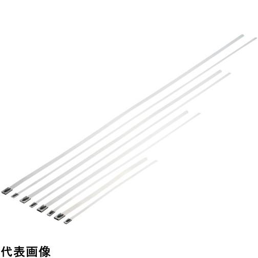 パンドウイット MLTタイプ 自動ロック式ステンレススチールバンド SUS304 幅4.6mm 長さ363mm 100本入り MLT4S-CP [MLT4S-CP] MLT4SCP 販売単位:1 送料無料