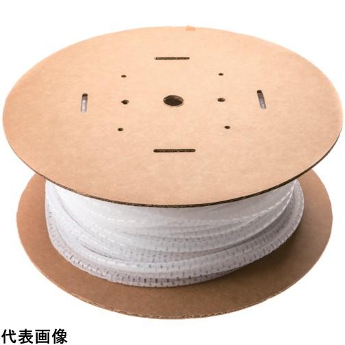 パンドウイット 電線保護チューブ スリット型スパイラル パンラップ 束線径18.3Φmm 30m巻き ナチュラル PW75F-C [PW75F-C] PW75FC 販売単位:1 送料無料