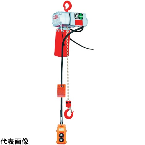 象印 ベータ型小型電気チェンブロック 定格荷重125KG 揚程3M [BS-K1230] BSK1230 販売単位:1 送料無料