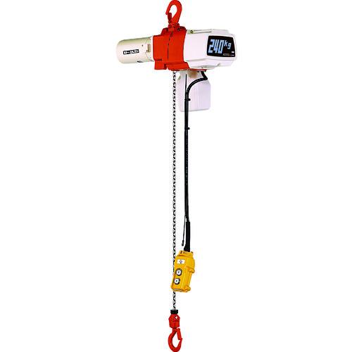 キトー 電気チェーンブロック キトーセレクト 1速形 単相200V 240kg×3m [EDX24S] EDX24S 販売単位:1 送料無料