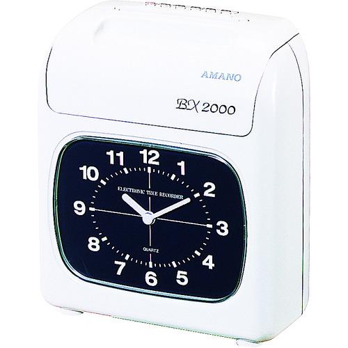 アマノ タイムレコーダー [BX-2000] BX2000 販売単位:1 送料無料