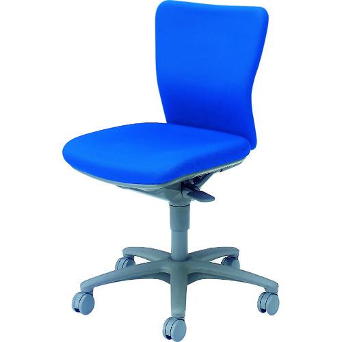 オカムラ 「カロッツァ」 ローバック 肘なし ブルー [CK33GR-FS16] CK33GRFS16 販売単位:1 運賃別途