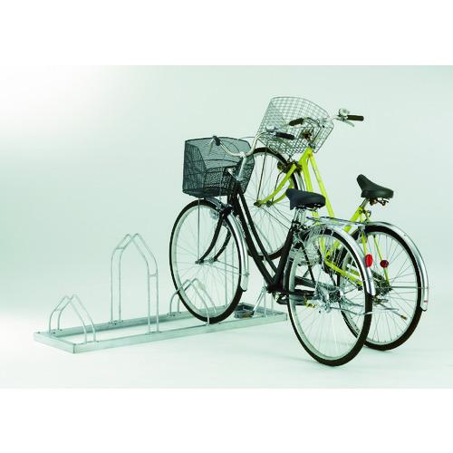 【お買い物マラソン クーポン配布中】ダイケン 平置き自転車ラック前輪差込式サイクルスタンド 4台収容ピッチ400 [CS-M4] CSM4 販売単位:1 沖縄・離島は除く