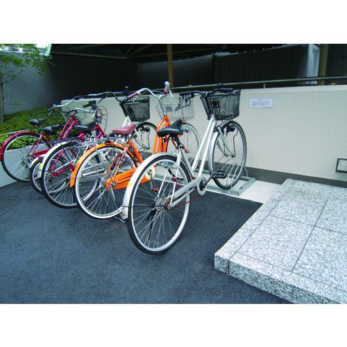 ダイケン 平置き自転車ラック前輪差込式サイクルスタンド 6台収容ピッチ600 [CS-ML6] CSML6 販売単位:1 沖縄・離島は除く