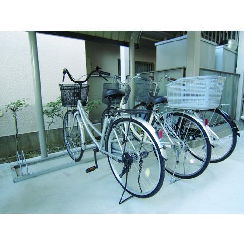 ダイケン 平置き自転車ラック前輪差込式サイクルスタンド 4台収容ピッチ600 [CS-ML4] CSML4 販売単位:1 沖縄・離島は除く
