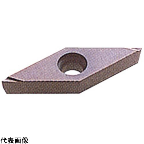 三菱 P級超硬旋削チップ HTI10 [VCGT080202R-F HTI10] VCGT080202RF 10個セット 送料無料
