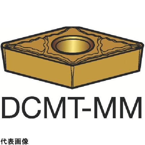 サンドビック コロターン107 旋削用ポジ・チップ 2025 [DCMT 11 T3 08-MM 2025] DCMT11T308MM 10個セット 送料無料