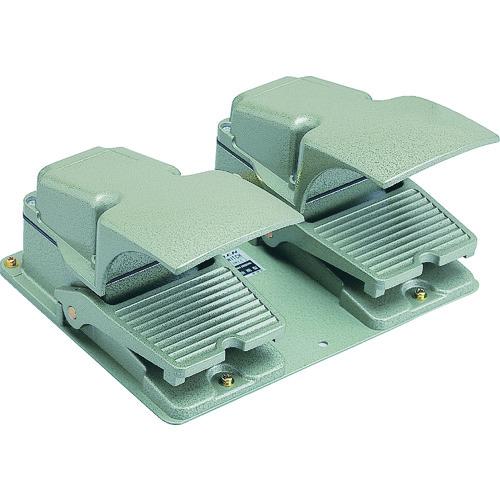 オジデン フットスイッチ 産業用防雨形・保護カバー付 定格6A-250VAC [OFL-TW-SM2C] OFLTWSM2C 販売単位:1 送料無料