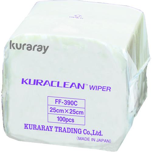 クラレ クラクリーンワイパー 25cm×25cm 100枚×30袋=3000枚/Cs [FF-390C] FF390C 販売単位:1 送料無料