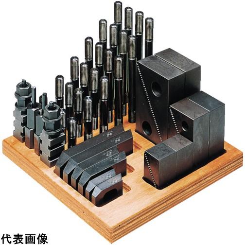 スーパーツール ステップクランプキット(M12、T溝巾16) [1612-CK] 1612CK 販売単位:1 送料無料