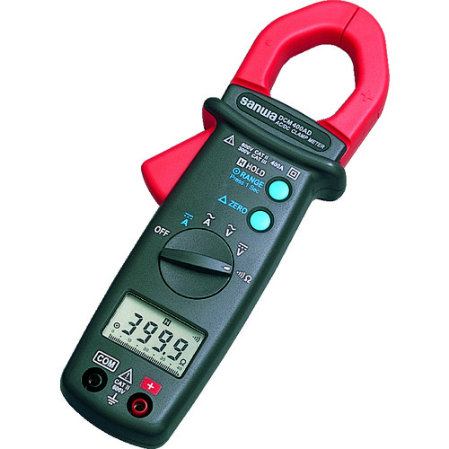 [DCM400AD] 送料無料 販売単位:1 DC/AC両用デジタルクランプメータ DCM400AD SANWA