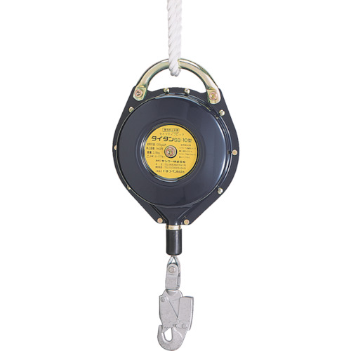 タイタン セイフティブロック(ワイヤーロープ式) [SB-10] SB10 販売単位:1 送料無料