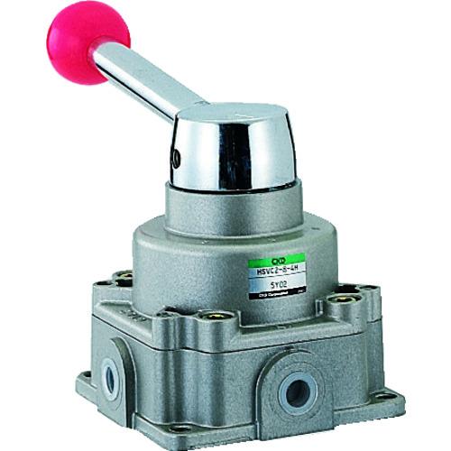 CKD 手動切換弁 [HSVC2-8-4H] HSVC284H 販売単位:1 送料無料