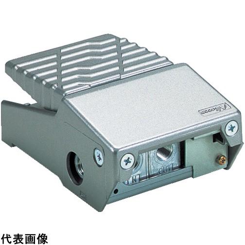 日本精器 4方向足踏バルブ8A [BN-4PA41-8] BN4PA418 販売単位:1 送料無料