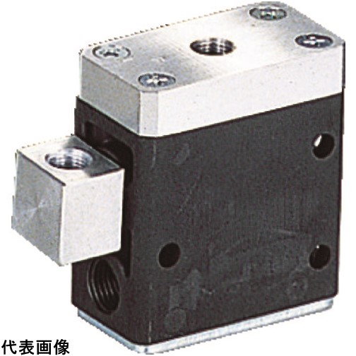 TAIYO パイロットチェックバルブ 1/4 [PCV-02] PCV02 販売単位:1 送料無料