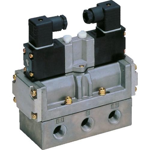 CKD 4Fシリーズパイロット式5ポート弁セレックスバルブ 5.0C[dm[[の3乗]]/(S・bar)]/音速コンダクタンス [4F420-10-AC100V] 4F42010AC100V 販売単位:1 送料無料