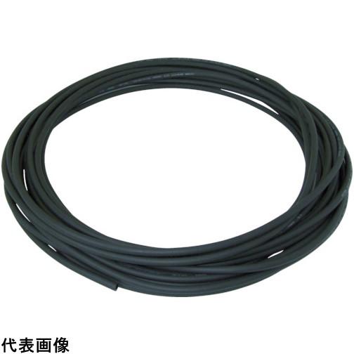 チヨダ エルフレックス二重管チューブ 8mm/100m 黒 [LE-8-100 BK] LE8100 販売単位:1 送料無料