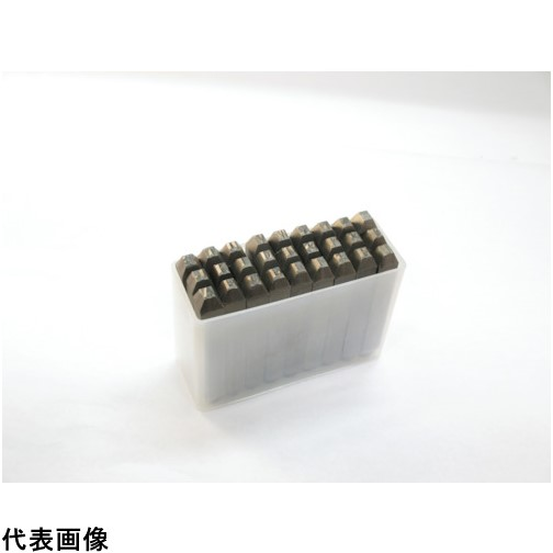 TRUSCO トラスコ中山 逆英字刻印セット 4mm [SKC-40] SKC40 販売単位:1 送料無料