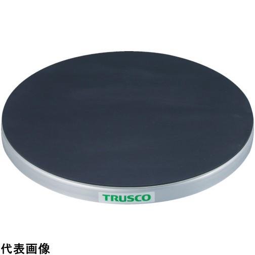 TRUSCO トラスコ中山 回転台 50Kg型 Φ300 ゴムマット張り天板 [TC30-05G] TC3005G 販売単位:1 送料無料