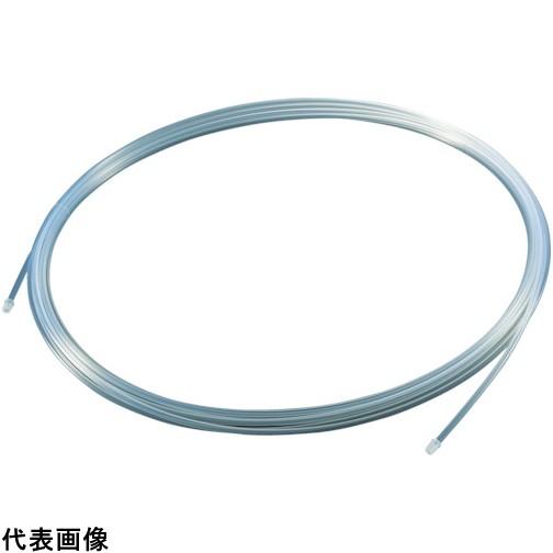 TRUSCO トラスコ中山 フッ素樹脂チュ-ブ 内径4mmX外径6mm 長さ20m [TPFA6-20] TPFA620 1個販売 送料無料