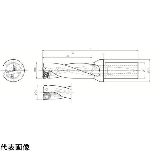 京セラ ドリル用ホルダ  [S25-DRX250M-3-07] S25DRX250M307 1本販売 送料無料