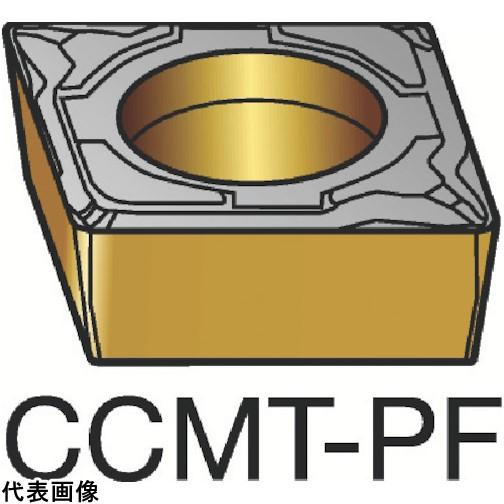 サンドビック コロターン107 旋削用ポジ・チップ 1515 [CCMT 09 T3 02-PF 1515] CCMT09T302PF 10個セット 送料無料