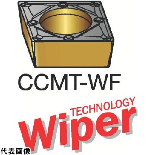 サンドビック コロターン107 旋削用ポジ・チップ 1115 [CCMT 09 T3 04-WF 1115] CCMT09T304WF 10個セット 送料無料
