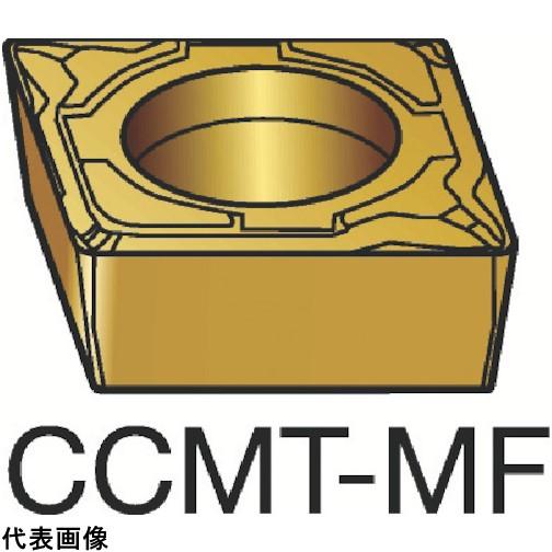 サンドビック コロターン107 旋削用ポジ・チップ 1115 [CCMT 09 T3 08-MF 1115] CCMT09T308MF 10個セット 送料無料