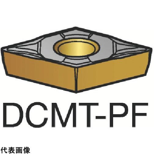 サンドビック コロターン107 旋削用ポジ・チップ 1515 [DCMT 07 02 02-PF 1515] DCMT070202PF 10個セット 送料無料