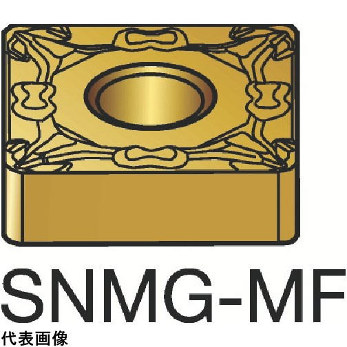 サンドビック T-Max P 旋削用ネガ・チップ 1115 [SNMG 12 04 04-MF 1115] SNMG120404MF 10個セット 送料無料