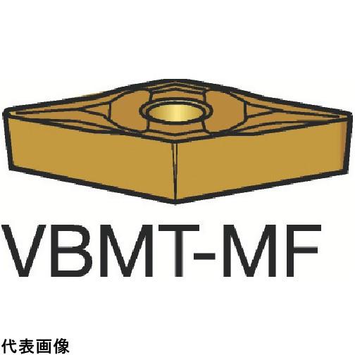 サンドビック コロターン107 旋削用ポジ・チップ 1125 [VBMT 16 04 08-MF 1125] VBMT160408MF 10個セット 送料無料