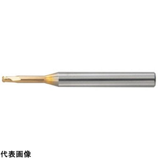 ユニオンツール 超硬エンドミル ロングネックラジアス φ0.3XR0.05×3 [HLRS 2003-005-030E] HLRS2003005030E 販売単位:1 送料無料