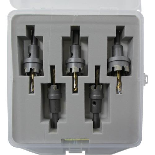 販売単位:1 超硬ホルソー(薄板用)セット HOSASET [HOS-ASET] HOS-ASET エビ 送料無料