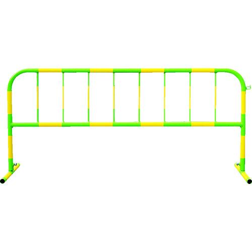 トーグ カラーパイプバリケード黄反射緑 [CB-2] CB2 販売単位:1 運賃別途