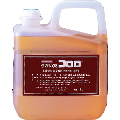 サラヤ うがい薬コロロ 5L [12834] 12834 販売単位:1 送料無料