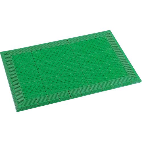 テラモト 屋外マット テラエルボーマット 緑 900×1800mm [MR-052-056-1] MR0520561 販売単位:1 送料無料